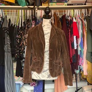 Brown Corduroy Vintage Michael Kors Jacket